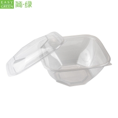 Biodegradable PLA Plastic Dry/Fresh Fruit Box WIth Lid