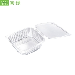 Empty Plastic Dry Fruit Packaging Box For ,High Durability PET