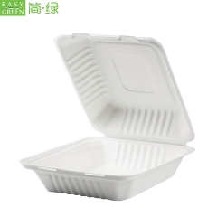 Eco Friendly Food Grade Biodegradable Clamshell Packaging