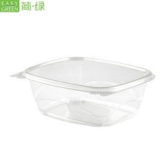 Biodegradable PLA Plastic Clamshell Fruit Box Packaging