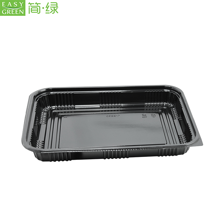 Rectangular Disposable Plastic PP Food Containers Packaging
