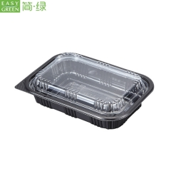 Plastic Disposable Microwave PP Food Containers With Lid