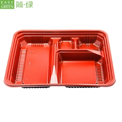Disposable Microwave PP Lunch Box For Eco-Friendly Good Food Packaging