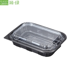 Microwave Disposable Plasticsafe Food Containers With Lid