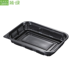 Disposable Plastic Food Container Made Of Microwave PP Material