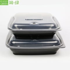 27oz PP Compartment Blister Food Box