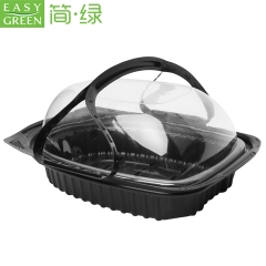 Easy Green food grade disposable PP takeaway plastic box for roast chicken